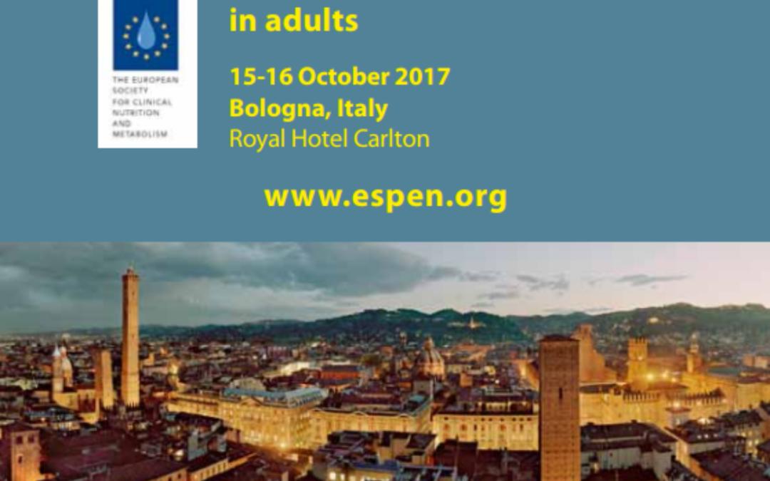 Un Filo per la Vita invitata ad Espen – The European Society for Clinical Nutrition and Metabolism