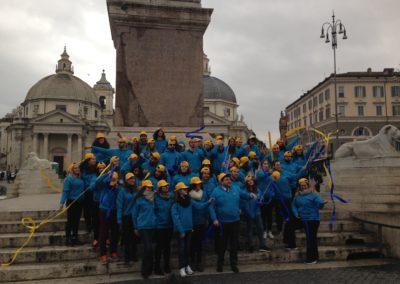 1° Marzo: Giornata della IICB. Il Flash Mob di Un Filo per la Vita a Roma