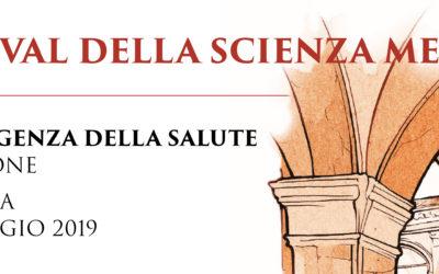 Un Filo per la Vita al Festival della Scienza Medica 2019 di Bologna