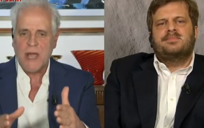 Formigoni furioso in tv: «Sulla sanità privata tante storie», non lascia la parola a Majorino e Formigli gli toglie l'audio