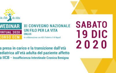 11° Convegno ECM di Un Filo per la Vita Onlus e AOU Federico II di Napoli