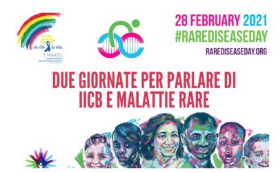 Due Giornate per parlare di IICB e Malattie Rare